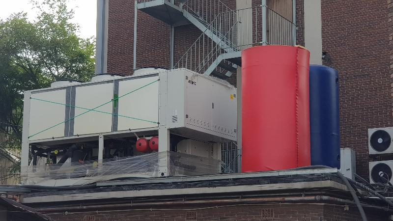 300kW Air Cooled Chilled Water HVAC plant