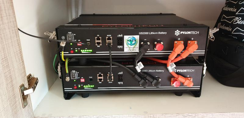 5kW Off-Grid Inverter, 4.8kWh Li-Ion Bank Backup System